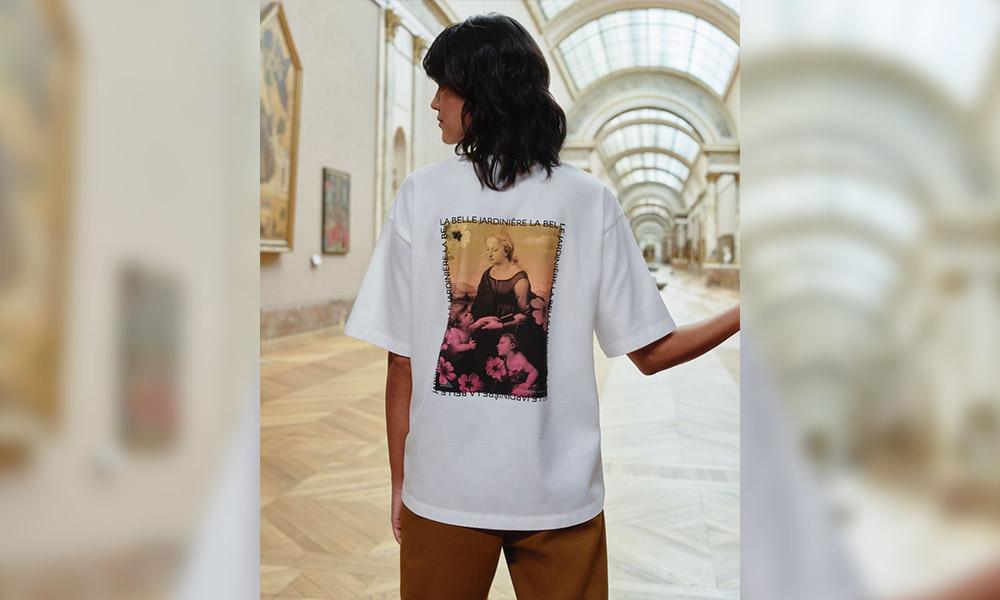 uniqlo musee du louvre women t shirt